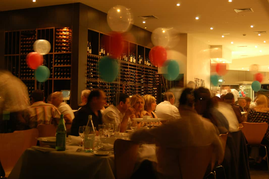 Restaurant With Private Room Rental Western Suburbs