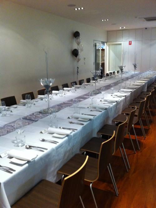 Martini Ristorante Event Scene Adelaide