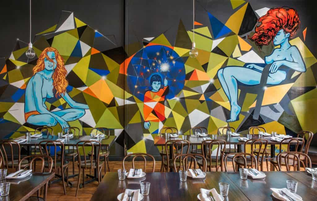 unique private dining room in Adelaide CBD at Melt