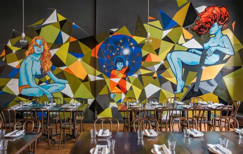 unique private dining room in Adelaide CBD at Melt
